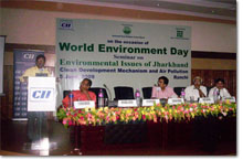 World Environment Day at Jharkhand - Shymala Ghosh